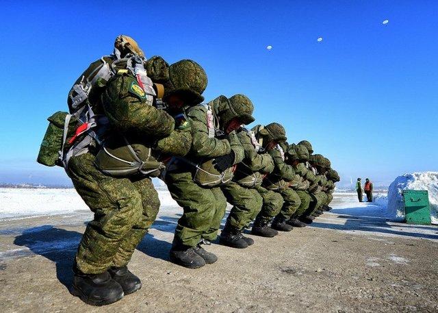 Служба по контракту в воздушно-десантных войсках