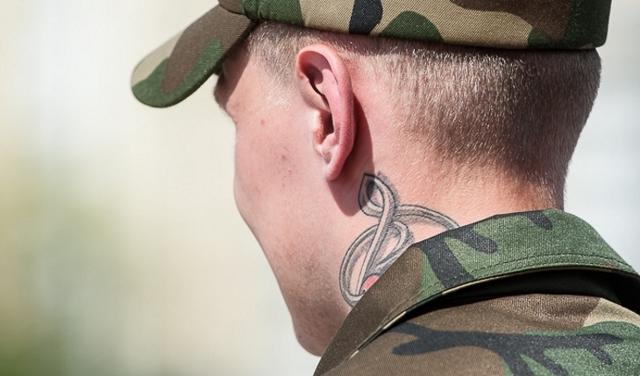 Берут ли в армию с тату - с какими тату не берут в армию.